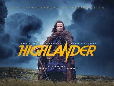 Highlander Anniversary Movie Poster