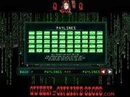 Matrix Slots Paylines