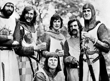 Monty Python Holy Grail Cast