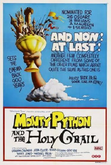 Monty Python Holy Grail Original Movie Poster
