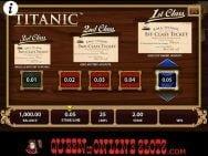 Titanic Online Slots Class Tickets