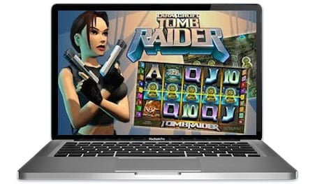 Tomb Raider Slots Main Image