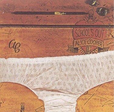 Alice Cooper School's Out Original Album Cover