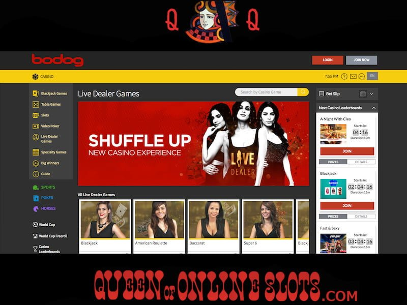 Live blackjack online free