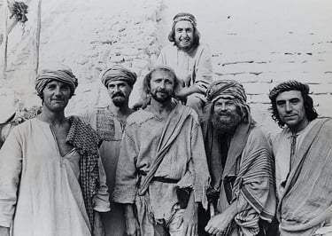 Monty Python Life of Brian Cast in Garb