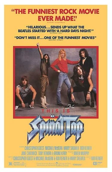 This is Spinal Tap Alt Movie Poster