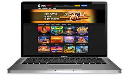 Trada Casino Main Image