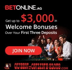 BetOnline Casino Welcome Bonus QOOS