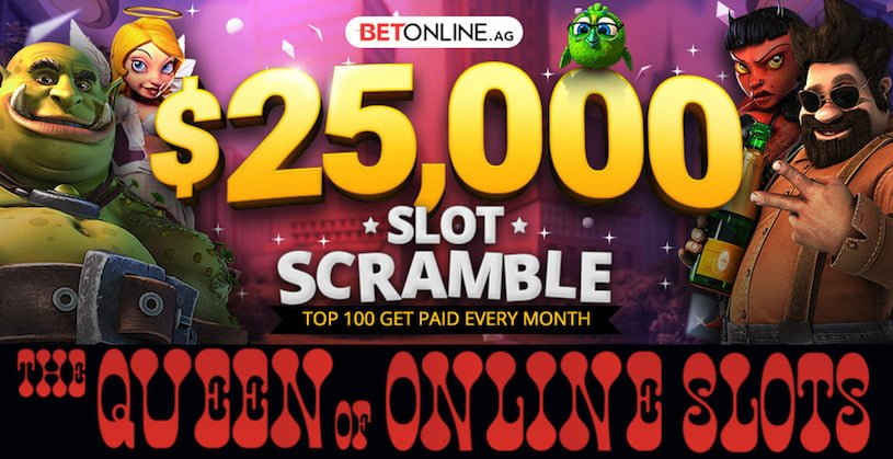 $25,000 Slot Scramble at the BetOnline Casino