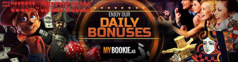 MyBookie Daily Casino Bonuses Banner