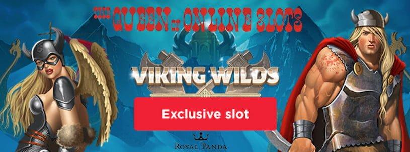 Viking Wild Free Spins at Royal Panda