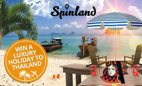 Win a Thailand Vacation at Spinland