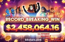Bitstarz Record Breaking Win May 2019