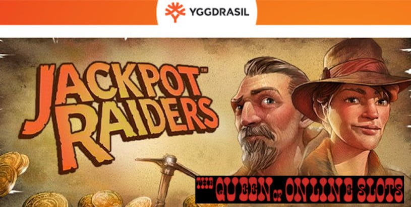 Jackpot Raiders Slots Release Yggdrasil
