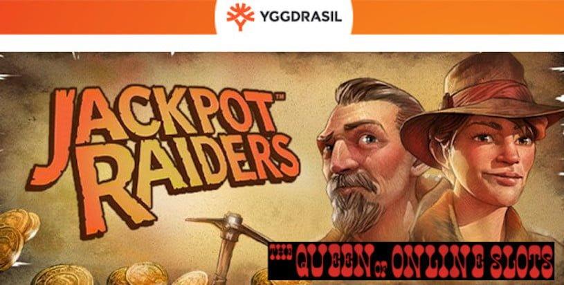 Jackpot Raiders Slots Release Yggdrasil