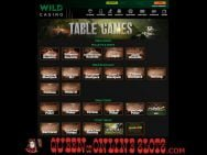 Wild Casino Table Games