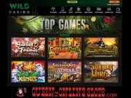 Wild Casino Top Games