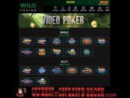 Wild Casino Video Poker