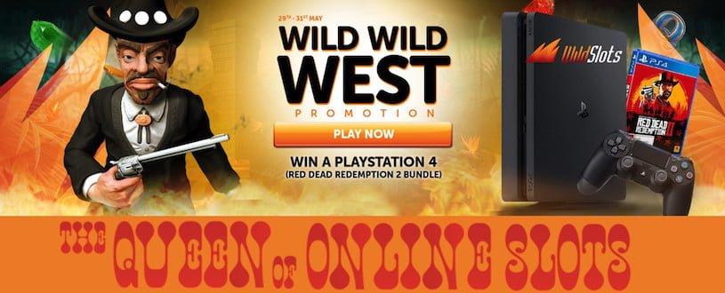 Wild Wild West Promotion at WildSlots Casino