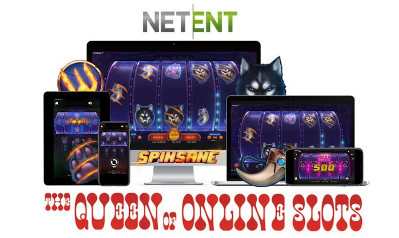 NetEnt Launches Spinsane Slots