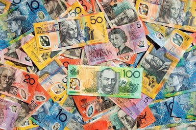 Pile of Australian Money