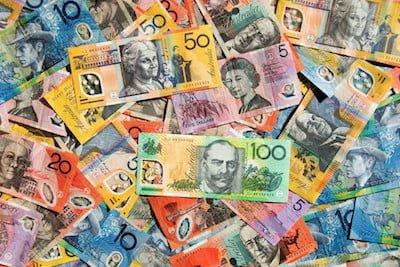 Pile of Australian Money