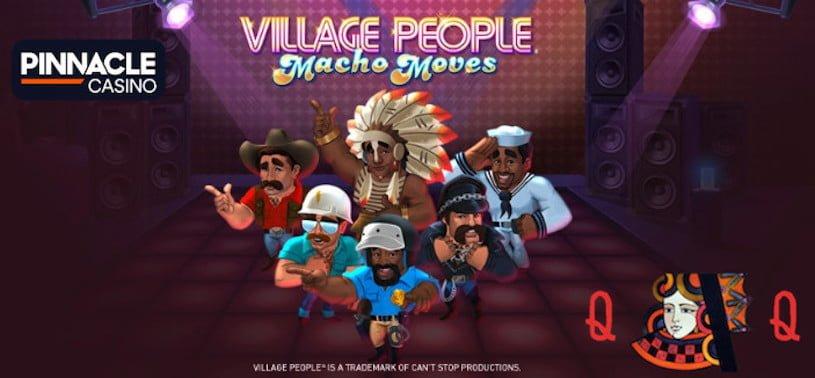 Village People Slots Promo at Pinnacle Casino