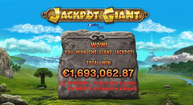Jackpot Giant Slots Pays Out Massive Cash Prize