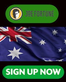 Joe Fortune Sign Up Banner