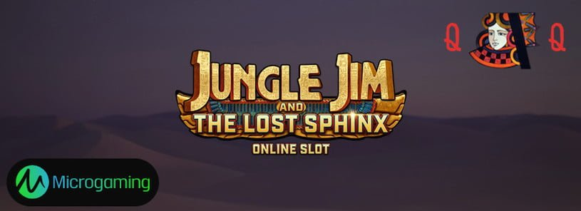 Jungle Jim and The Lost Sphinx Slots Launched by Microgaming