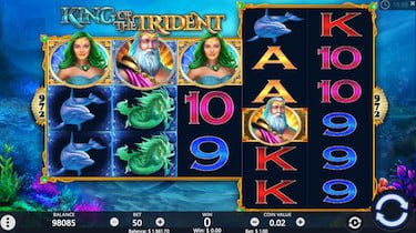 King of the Trident Slots Screenshot