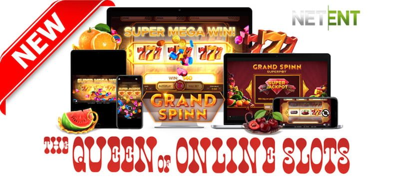 NetEnt Releases Jackpot Game Grand Spinn Slots