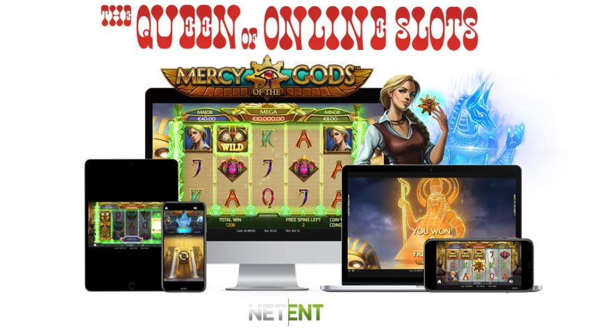 NetEnt Releases Mercy of the Gods Slots
