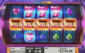 Prime Zone Slots Five Wilds