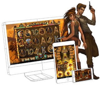 Relic Hunter Slots Promotional Image