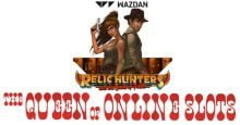 Relic Hunters and the Book of Faith Slots from Wazdan