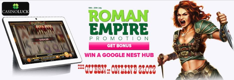 Roman Empire Promotion at CasinoLuck