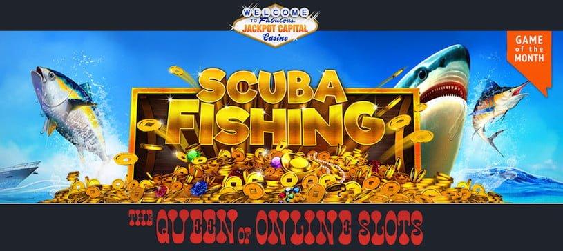 Scuba Fishing Slots at Jackpot Capital