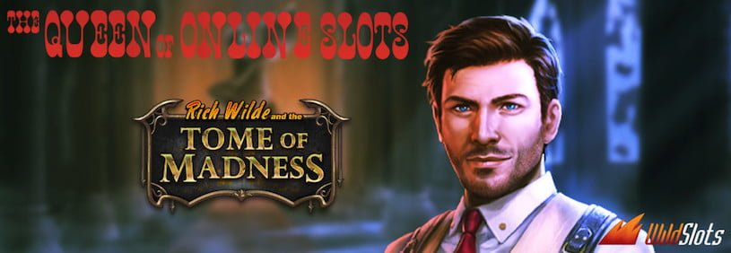 Tome of Madness Promotion at WildSlots Casino