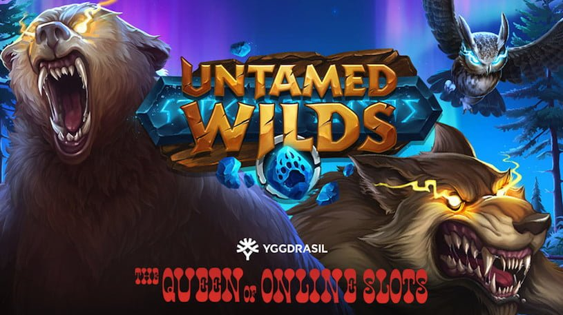 Untamed Wilds Slots Released by Yggdrasil