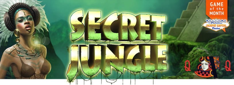Secret Jungle Slots is the New Game of the Month at Jackpot Capital Casino